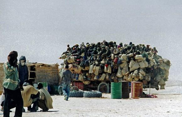 Migrants de retour de Libye (Dirkou, Niger 2004)Julien Brachet