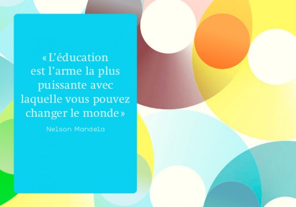 citation éducation Mandela